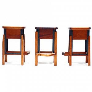 Custom Wooden Stools-1