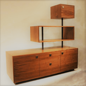Shelving Unit With Drawers