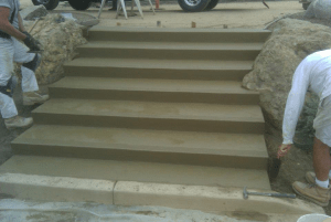 School Concrete Stairs-3